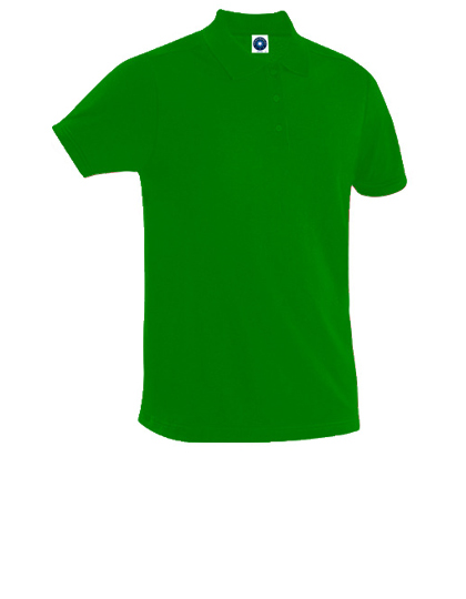 Poloshirt, grün, Baumwolle