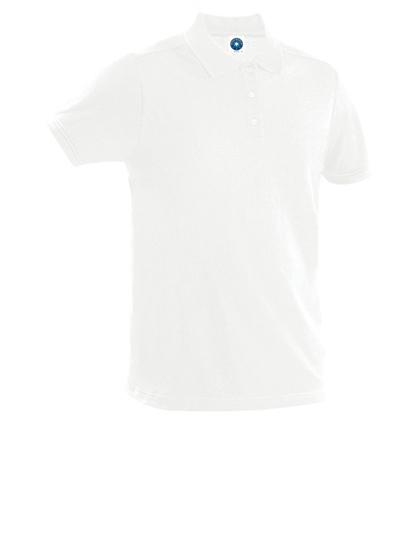 Poloshirt,weiß, Baumwolle